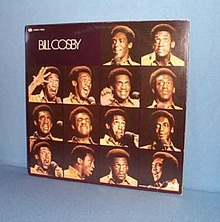 Bill Cosby LP record