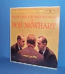Behind the Button Down Mind of Bob Newhart LP record