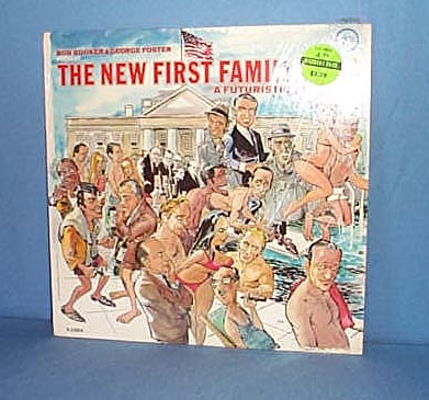 The New First Family 1968 LP record