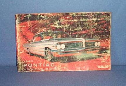 1962 Pontiac Owner's Guide