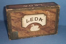 Bobrow Bros. Philadelphia Pa LEDA cigar box