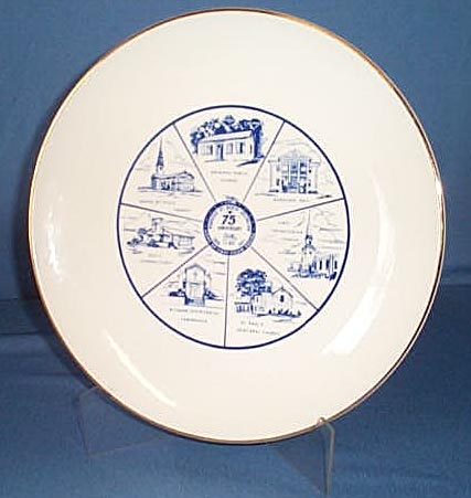 1971 Borough of North Arlington, NJ souvenir plate