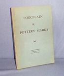 Porcelain and Pottery Marks by Urban Hoffman