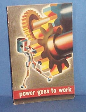 General Motors Corporation Power Goes To Work book