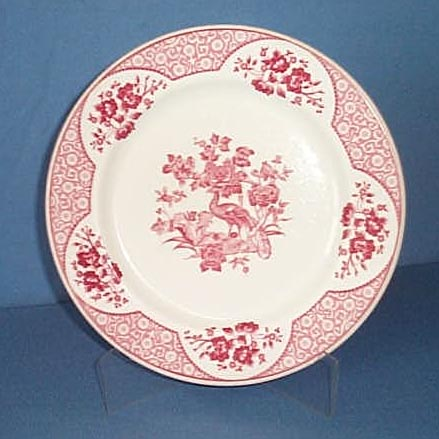 O. P. Co. Syracuse China Wakefield 10 inch restaurant-ware dinner plate