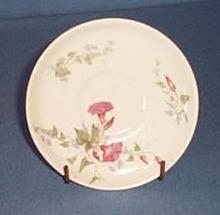 Royal Doulton floral demitasse saucer