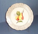 Carlsbad China pears 8.5 inch plate