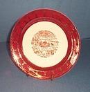Homer Laughlin Williamsburg VA souvenir plate