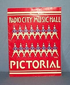Radio City Music Hall Pictorial booklet