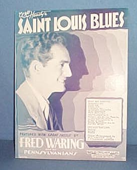 Saint Louis Blues Sheet Music performed by Fred Waring