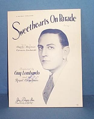 Sweethearts On Parade Sheet Music featured by Guy Lombardo