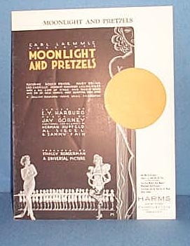 Moonlight and Pretzels Sheet Music
