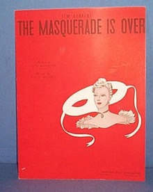 (I'm Afraid) The Masguerade Is Over Sheet Music