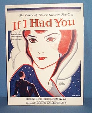 If I Had You Sheet Music (The Prince of Wales' Favorite Fox Trot)