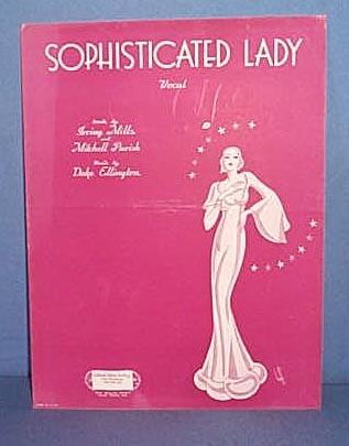 Sophisticated Lady Sheet Music by Duke Ellington