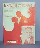 Take Me In Your Arms Sheet Music