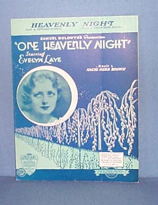 Heavenly Night Sheet Music