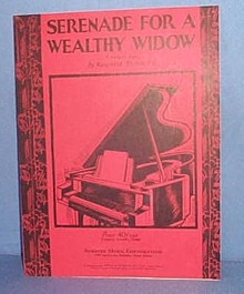 Serenade For a Wealthy Widow Sheet Music