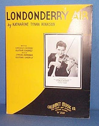 Londonderry Air Sheet Music