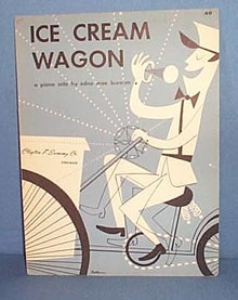 Ice Cream Wagon Sheet Music - piano solo