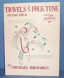 Travels of a Folk Tune Sheet Music - piano solo