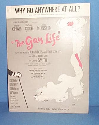 Why Go Anywhere At All? Sheet Music from the musical