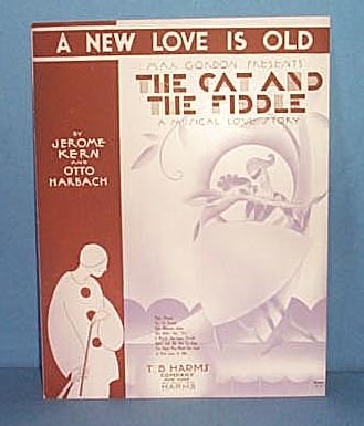 A New Love Is Old Sheet Music from Musical The Cat and The Fiddle