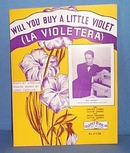 Will You Buy a Little Violet Sheet Music