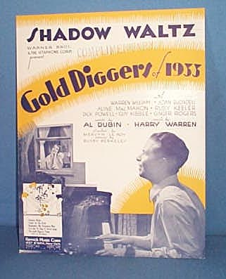 Shadow Waltz Sheet Music from musical