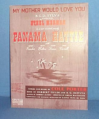 My Mother Would Love You Sheet Music by Cole Porter