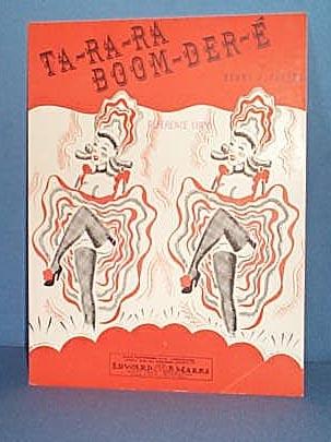 Ta-Ra-Ra Boom-Der-E Sheet Music
