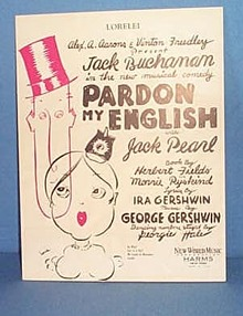 Lorelei Sheet Music from a Gershwin Musical