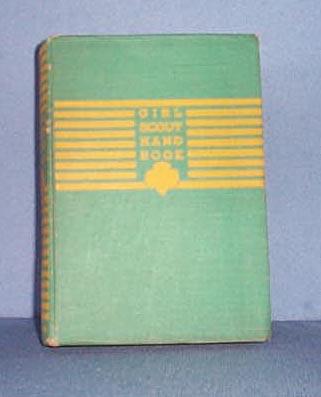 1941 Girl Scout Handbook for the Intermediate Program
