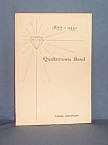 Diamond Anniversary Program of the Quakertown Band
