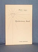 Diamond Anniversary Program of the Quakertown Band