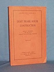 Light Frame House Construction