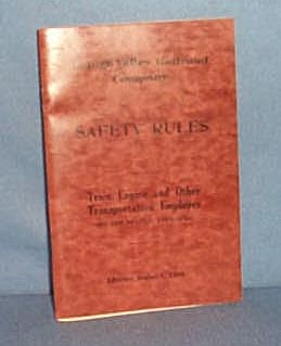 Lehigh Valley Railroad Company Safety Rules, 1944
