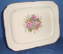 Wm. A. Rogers Cavalier design 11 inch platter