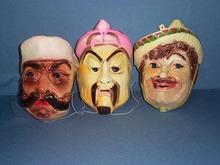 3 1960s Halloween masks