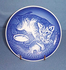 B & G 1971 Mother's Day plate