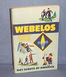 1967 Boy Scouts of America Webelos Scout Book