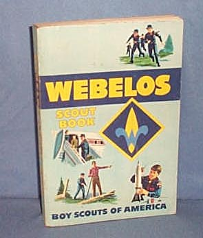 1967 Boy Scouts of America Webelos Scout Book