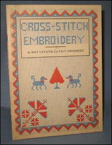 Cross-Stitch Embroidery by Ray Ufland and Lily Ziporkes