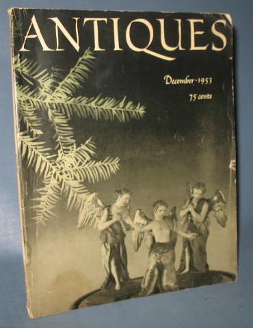 Antiques magazine, December, 1953