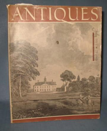 Antiques magazine, July 1953