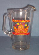 Dorney Park, Allentown PA glass beverage pitcher