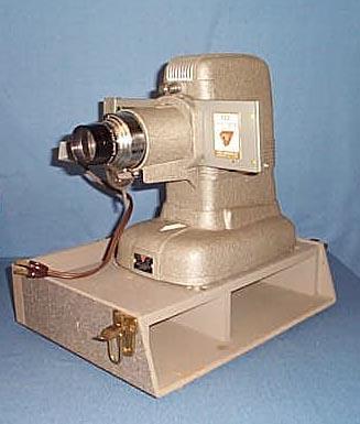 TDC Vivid Selectron Semimatic slide projector