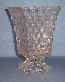 Fostoria American square vase
