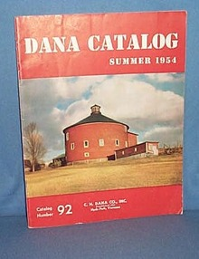 Dana Catalog, Summer, 1954, C. H. Dana Co., Hyde Park, Vermont