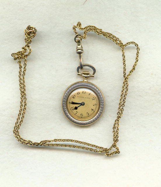 Wm Wyse and Son ladies pendant watch
